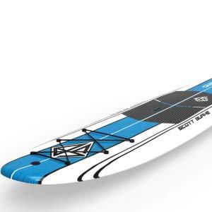 Scott Burke SUP Board built in bungie system