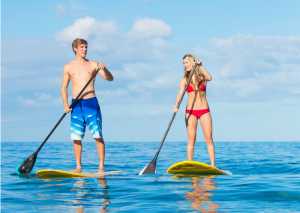 Standup Paddle Boarding Exercises