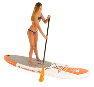 Pathfinder Inflatable SUP Stand-up Paddle board Bundle