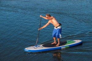 Aquaglide Cascade 11' Inflatable Stand-Up Paddle Board