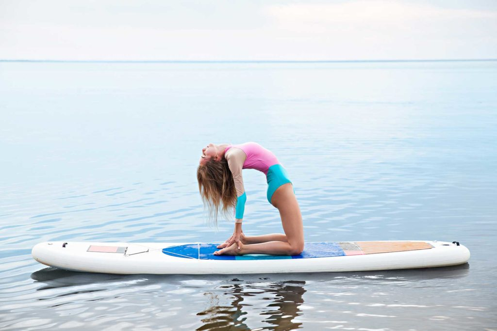 SUP Yoga for Beginngers