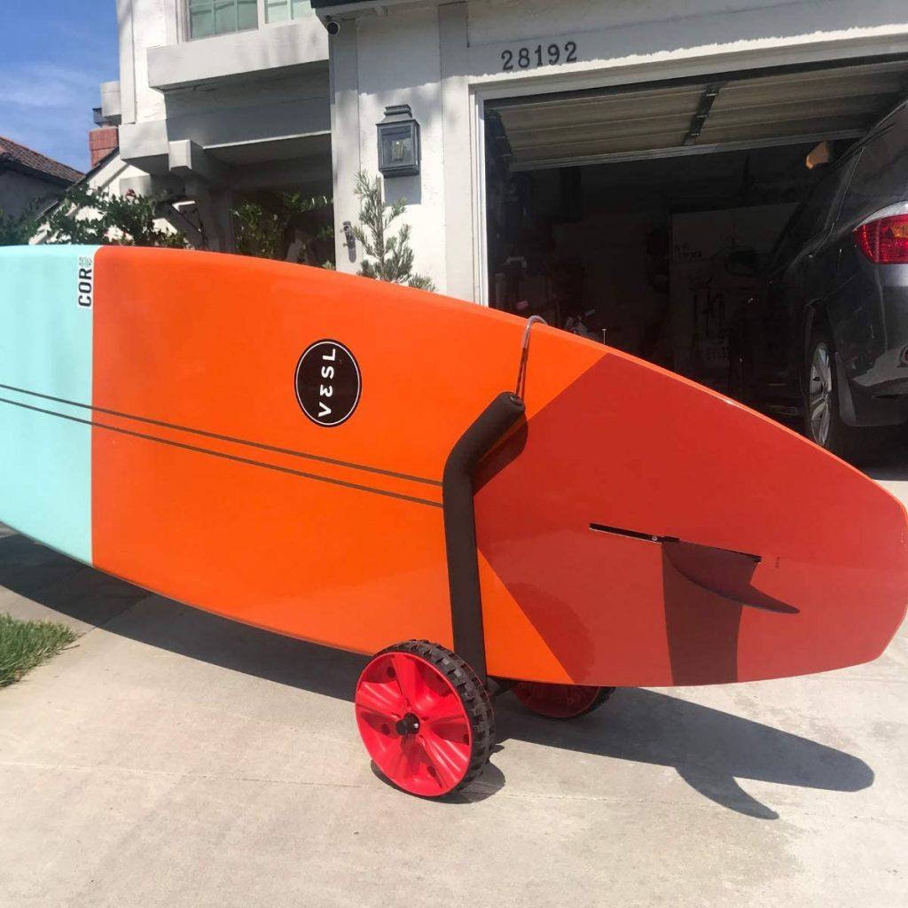 COR Surf Adjustable Stand Up Paddleboard Cart