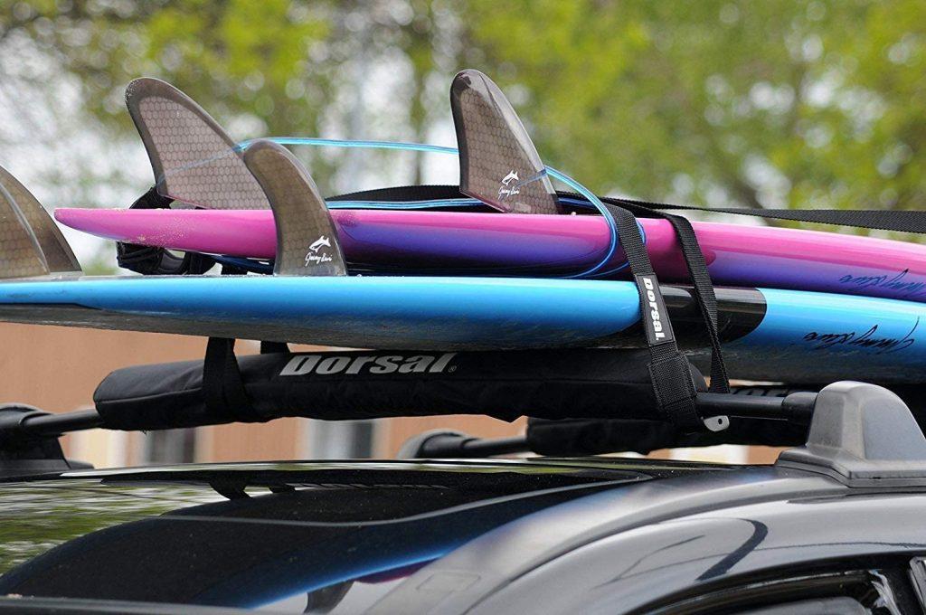 DORSAL Sunguard Aero Roof Rack Pads