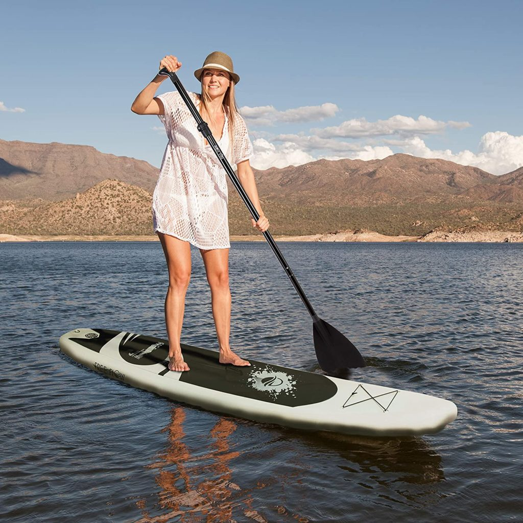Serene Life Premium Inflatable Stand Up Paddle Board