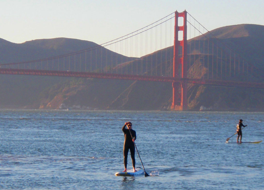 Golden Gate Bridge California Standup Paddle Board Rentals