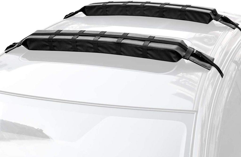 WOOWAVE Roof Rack Pads Universal Car Surfboard SUP Paddleboard