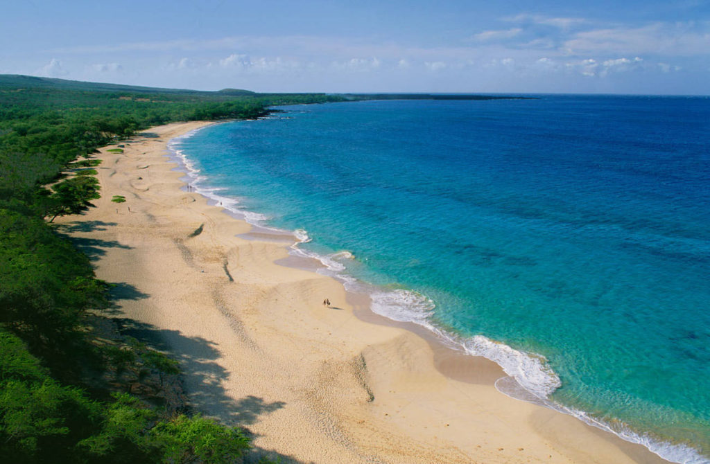 Makena Landing Park Stand Up Paddle Board In Hawaii
