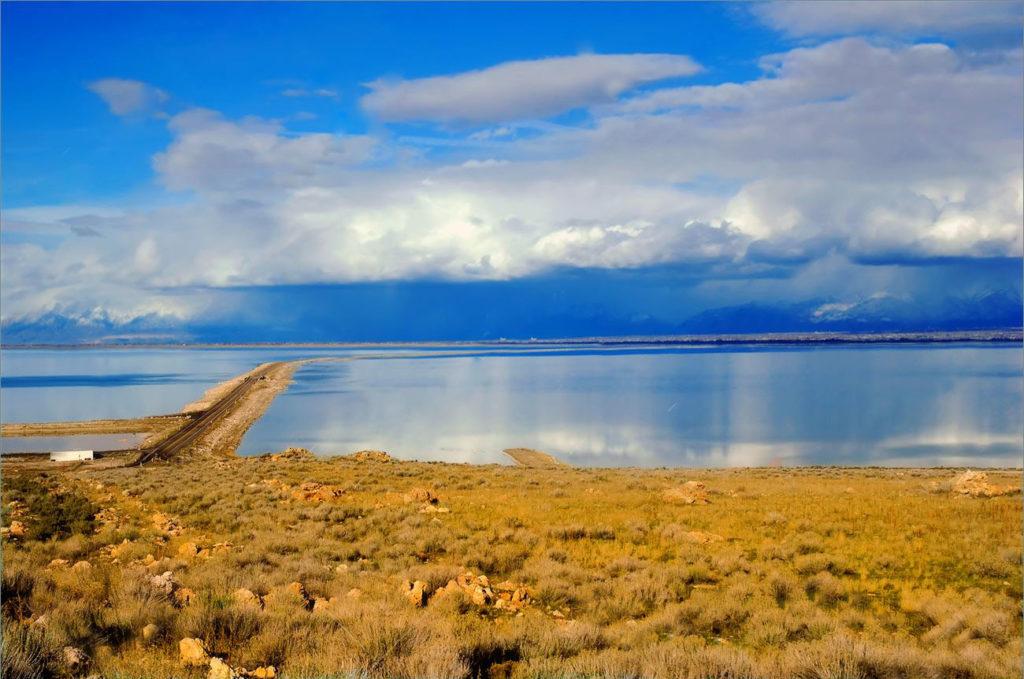 Paddle Boarding in Great Salt Lake Utah