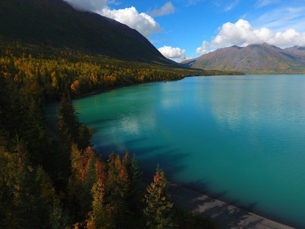 Standup Paddle Boarding in Kenai Lake Alaska