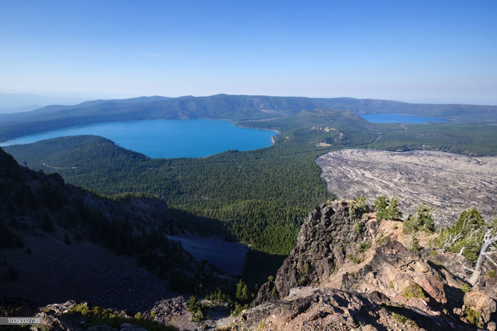 Best Place To go SUP standup paddle boarding in Newberry National Volcanic Monument Oregon