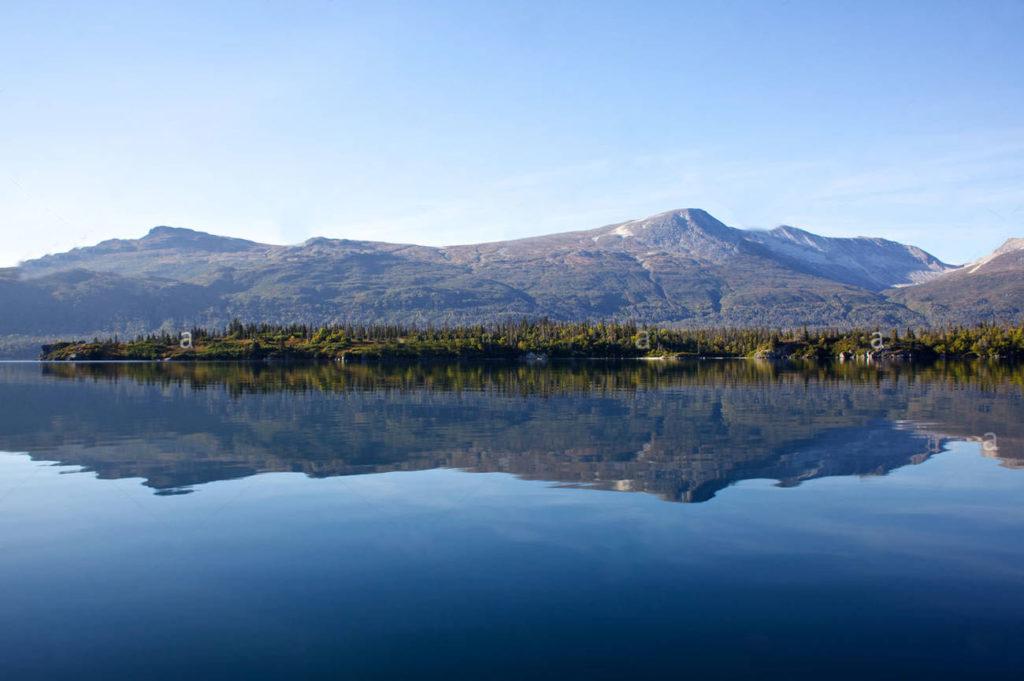 Paddle Boarding lliamna Lake Alaska