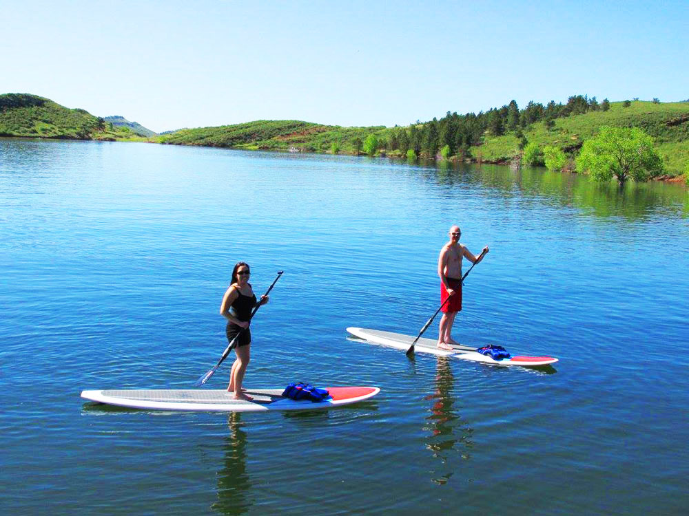 Best Place To SUP In Horsetooth Reservoir