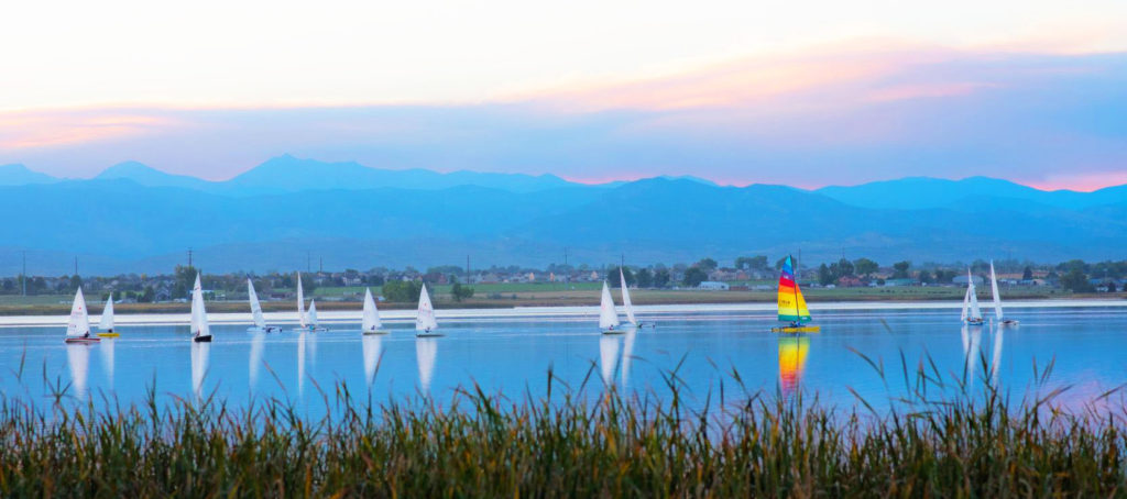 Best Places to SUP in Union Reservoir Colorado