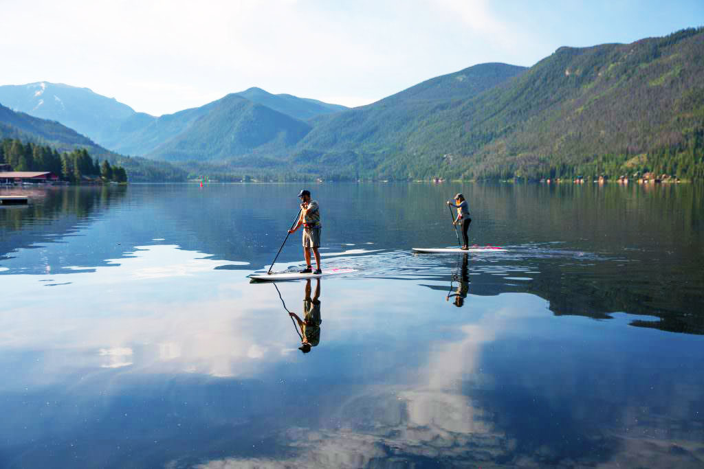 Best Places To SUP in Grand Lake Colorado