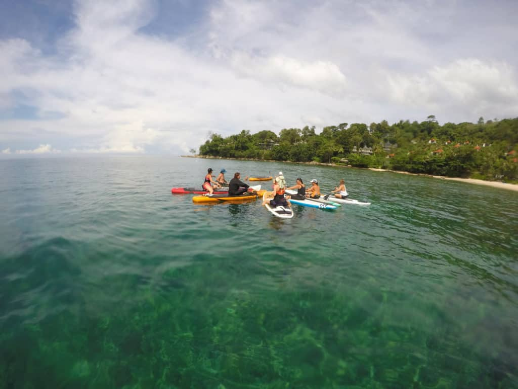 Stand Up Paddle Boarding in Phuket in Ao Phang Nga National Park