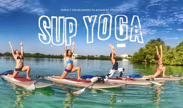 SUP Yoga Tour in Fort Lauderdale Florida