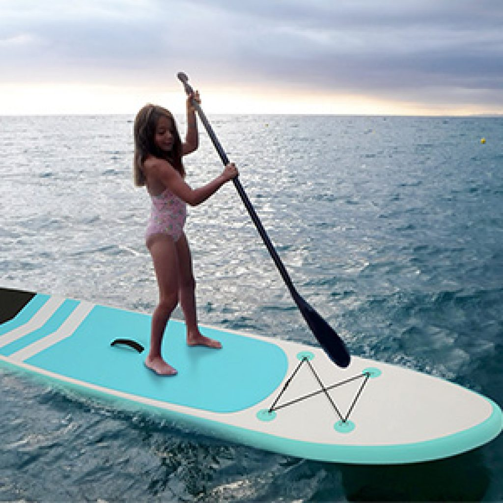 Caroma Inflatable Stand Up Paddle Board for kids