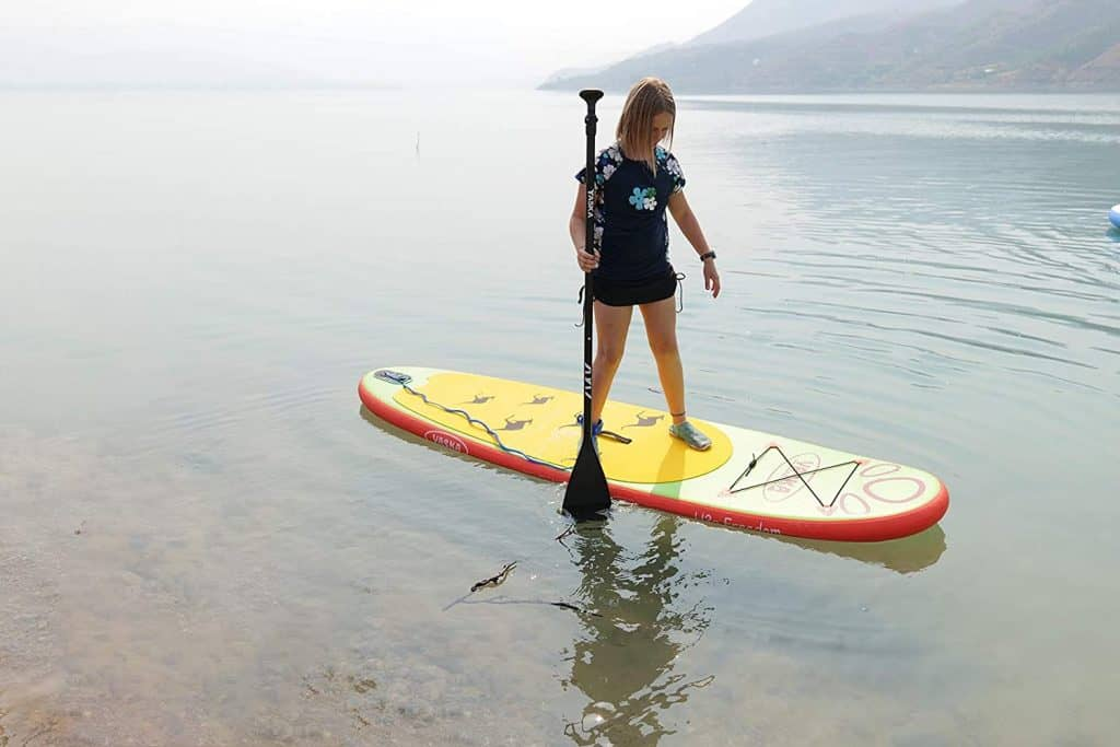 YASKA Children Inflatable Stand Up Paddle Board with SUP3