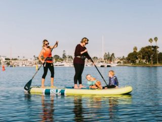 "ISLE Megalodon | 12' & 15' Inflatable Stand Up Paddle Board | 8"" Thick iSUP and Bundle Accessory Pack 