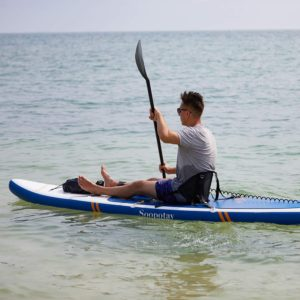 Soopotay Inflatable SUP Stand Up Paddle Board, Inflatable SUP Board with Kayak Conversion