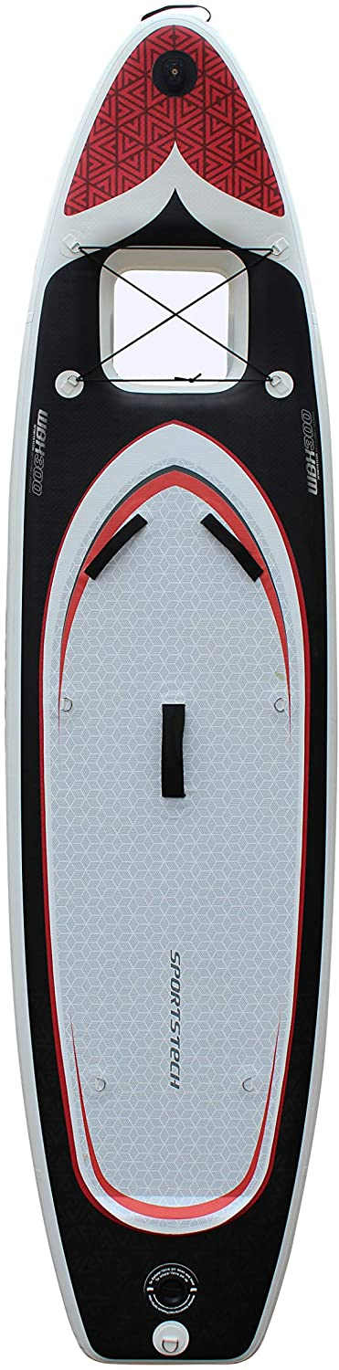 Sportstech Inflatable Stand Up Paddle Board with Kayak Conversion Seat 2