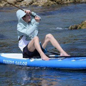 Tuxedo Sailor Inflatable SUP with Kayak Conversion Kit