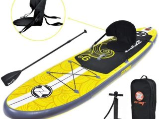 Zray Inflatable Paddle Board Stand Up SUP with kayak conversion
