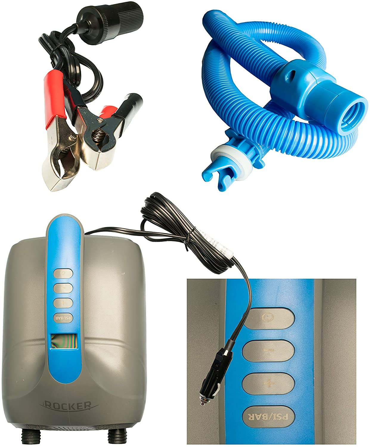 iROCKER Inflatable SUP Electric Pumps