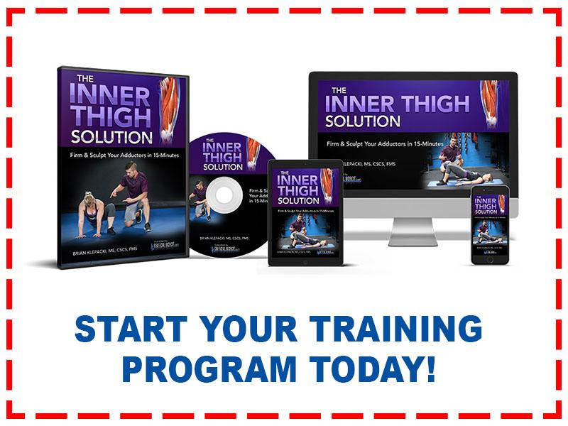 Inner Thigh Lower Body Exercise Program