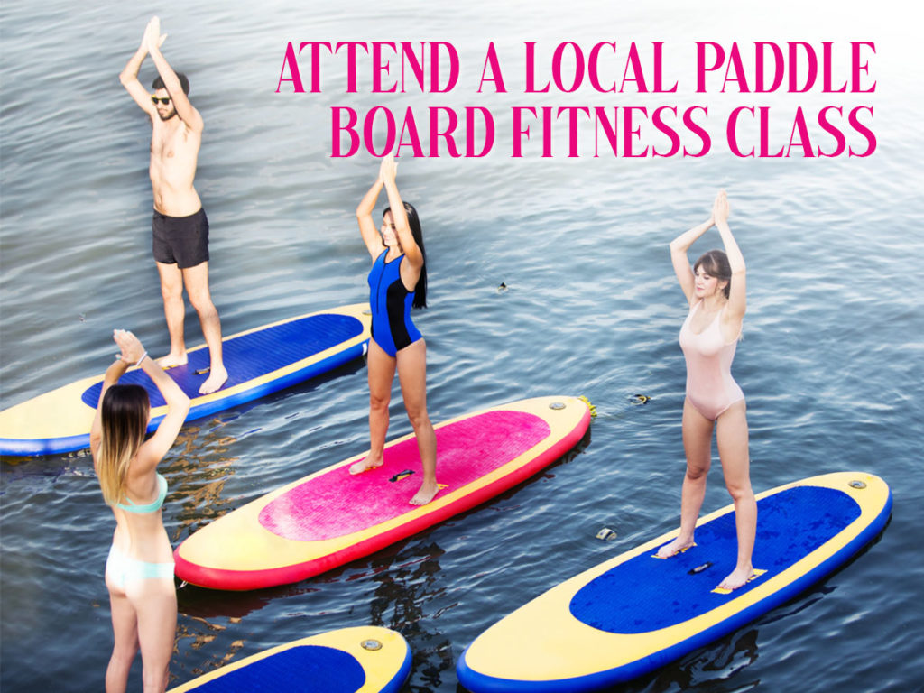 Local Paddle Board Fitness Session in My Area