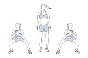 Lateral Squat Exercise