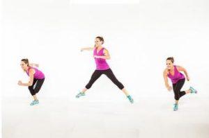 Skater-Hop Exercise