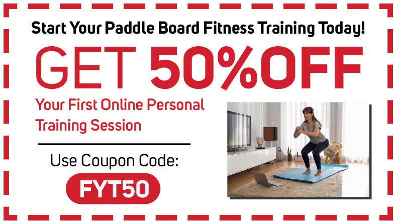 Online Personal Trainer for Paddle Board Fitness