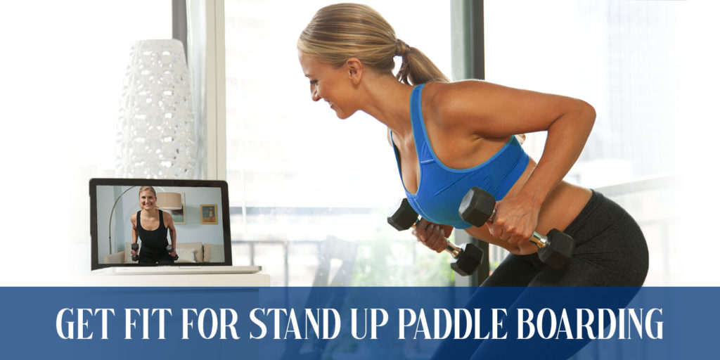 Get fit with Paddle Board fitness Training