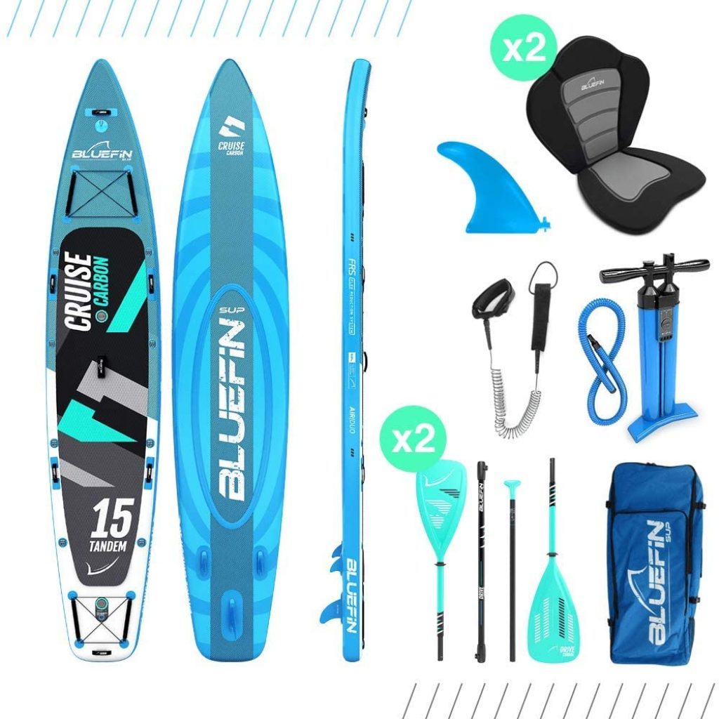 Bluefin Cruise SUP Package Stand Up Inflatable Paddle Board2