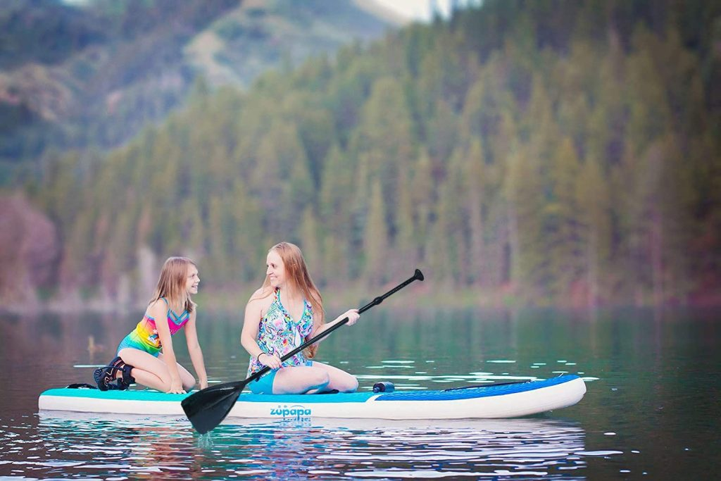 Zupapa Upgrade Inflatable Stand Up Paddle Board 6 Thick 11 FT Kayak Convertible