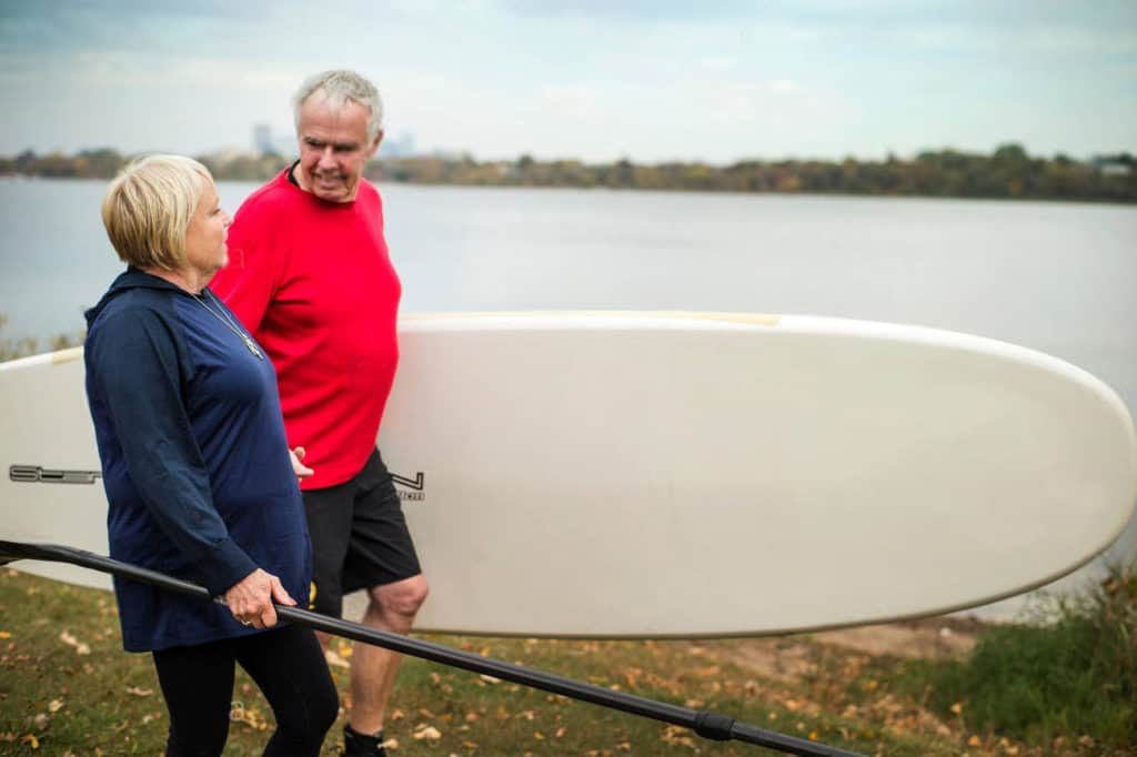 Paddle Board Fitness For Seniors