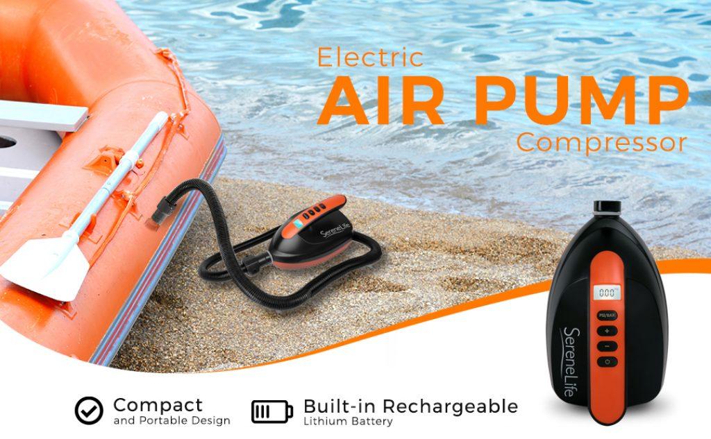 SereneLife Digital Electric Air Pump Compressor