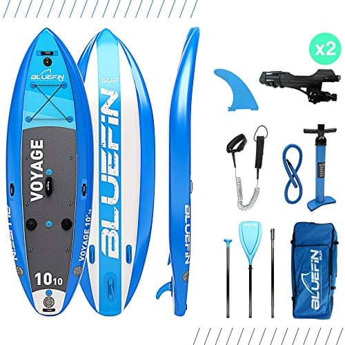 Bluefin SUP 10′10″ Voyage Stand Up Paddle Board Package – Ultimate Stability Paddle Board