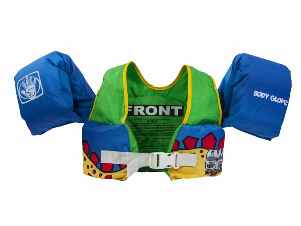 Body Glove Dinosaur Swim PFD Life Jacket