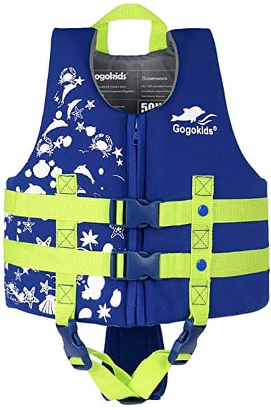 Gogokids Kids Swim PFD Vest Life Jacket