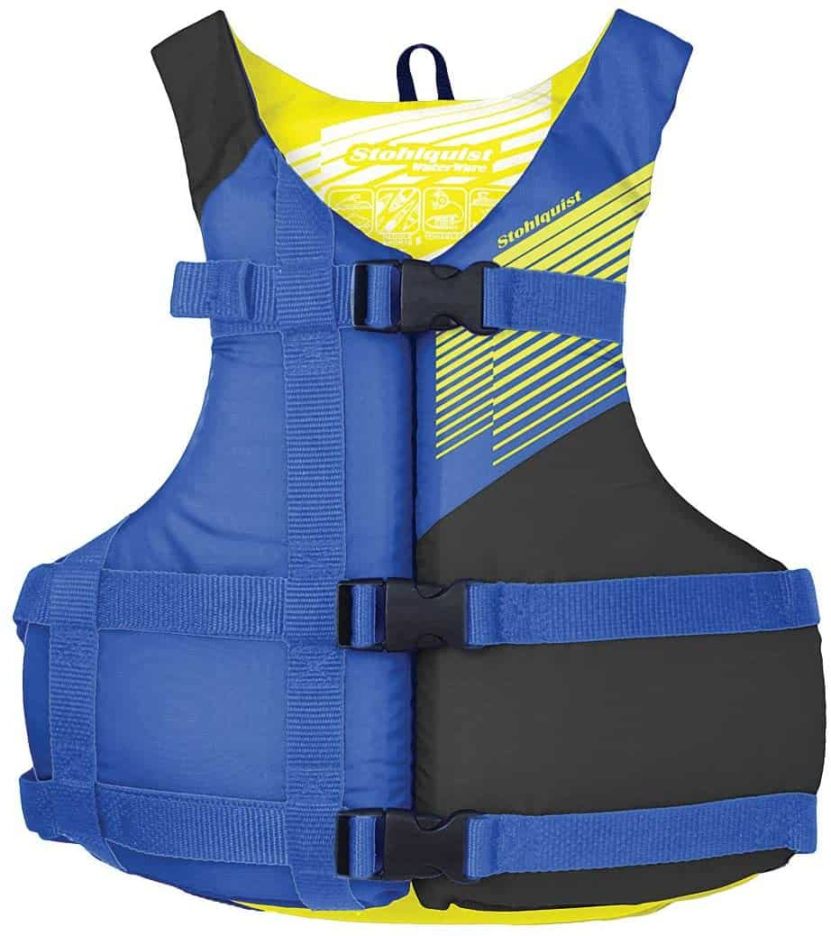 Stohlquist Fit Youth Life Jacket:Personal Flotation Device, Youth 50-90 lbs