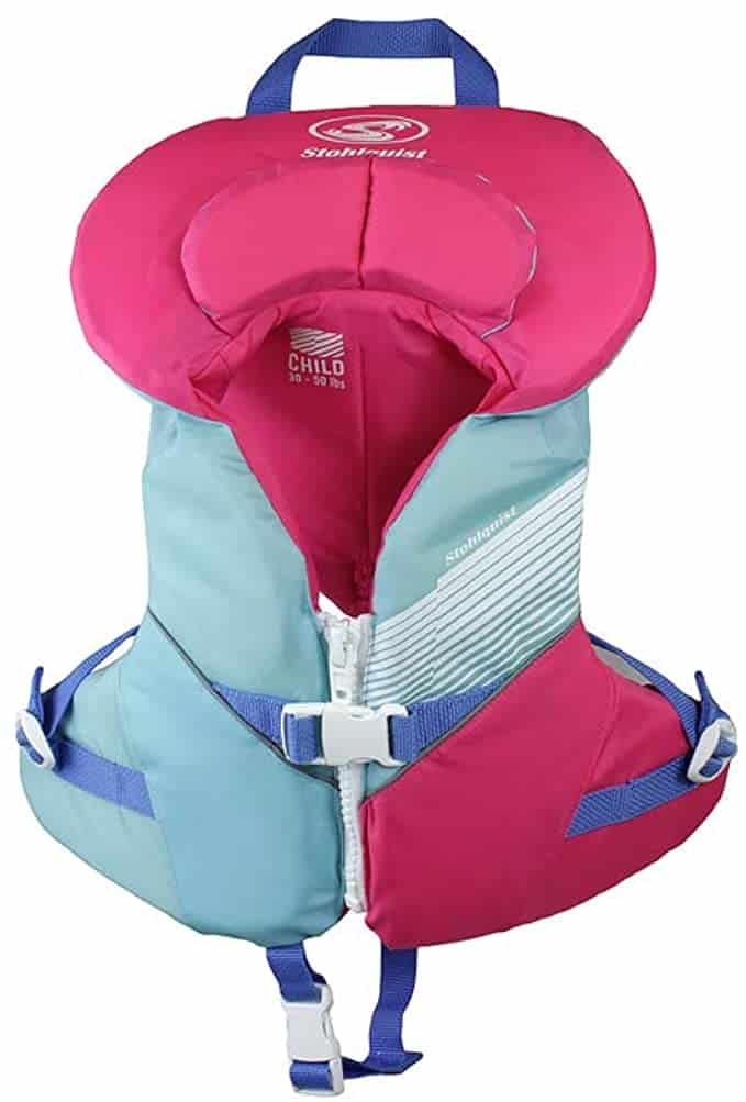 Stohlquist Kids Life Jacket Coast Guard Approved Life PFD Vest for Children