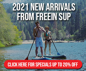 Freein SUP Arrivals for 2021